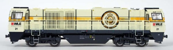 Игровой набор Mehano T275 Тепловоз четырехосный Vossloh G2000 SYM WLE Warsteiner