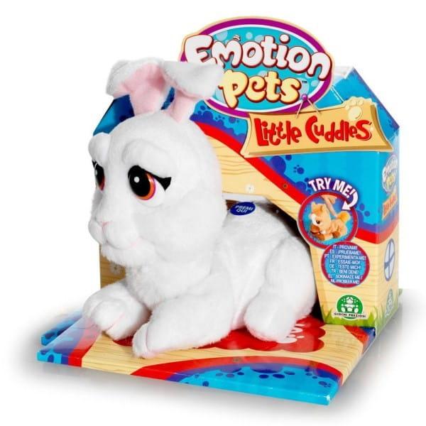 Купить Интерактивный зайка Милки Giochi Preziosi Little Cuddles в интернет магазине игрушек и детских товаров
