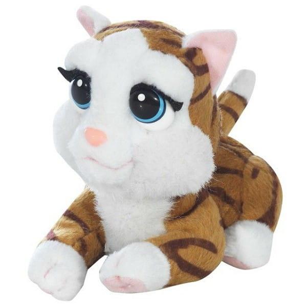Купить Интерактивная кошка Черри Giochi Preziosi Little Cuddles с батарейками в интернет магазине игрушек и детских товаров