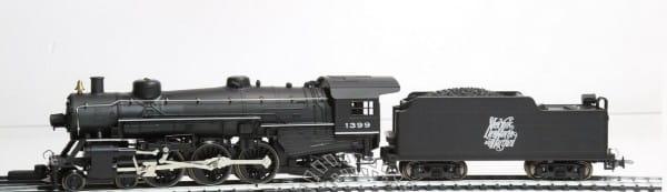 Игровой набор Mehano T006K Паровоз Pacific Streamline (DC аналоговое управление)