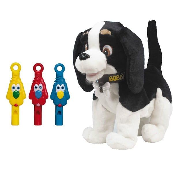 Купить Интерактивная собака Bobby (Giochi Preziosi) в интернет магазине игрушек и детских товаров