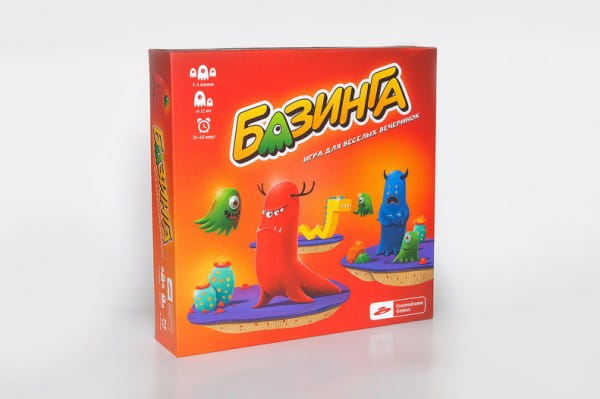 Купить Настольная игра Cosmodrome Games Базинга в интернет магазине игрушек и детских товаров