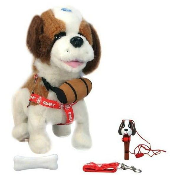 Купить Интерактивная собака Samby (Giochi Preziosi) в интернет магазине игрушек и детских товаров