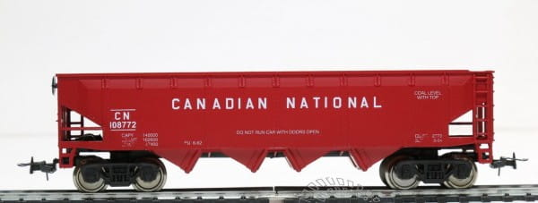 Игровой набор Mehano Саморазгружающийся бункерный грузовой вагон 40 CN LOB
