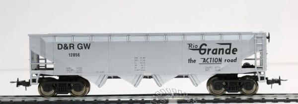 Игровой набор Mehano T063 Саморазгружающийся бункерный грузовой вагон 40 RIO Grande