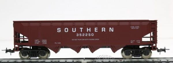 Игровой набор Mehano Саморазгружающийся бункерный грузовой вагон 40 Southern