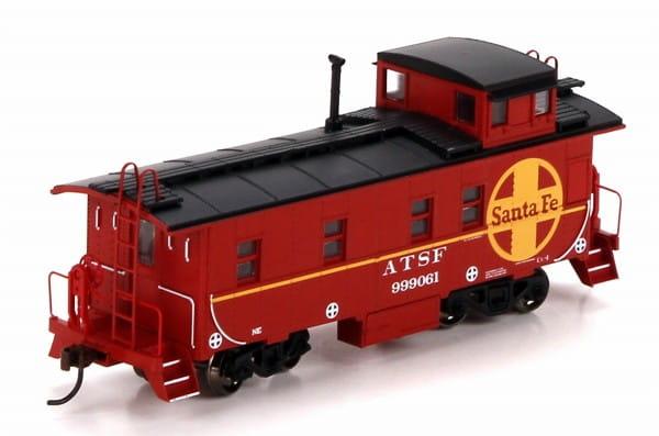Игровой набор Mehano Служебный вагон-камбуз для товарного поезда Santa