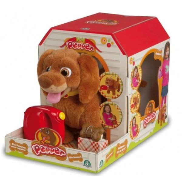 Купить Интерактивная собака Pepper (Giochi Preziosi) в интернет магазине игрушек и детских товаров
