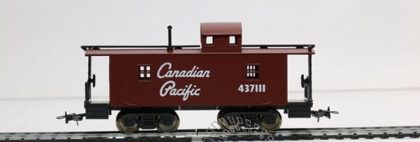 Игровой набор Mehano T076 Служебный вагон-камбуз для товарного поезда Caboose CP