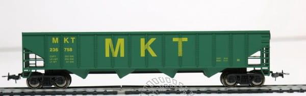 Игровой набор Mehano T077 Саморазгружающийся бункерный грузовой вагон 50 MKT