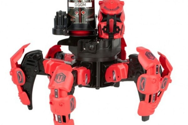 Радиоуправляемый робот Combat Creatures Attacknid - Space Warrior с дисками (Wow Stuff)