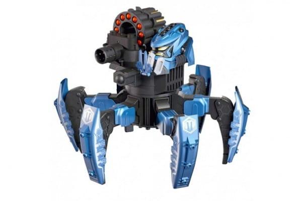 Радиоуправляемый робот Combat Creatures Attacknid - Space Warrior с ракетами и дисками (Wow Stuff)