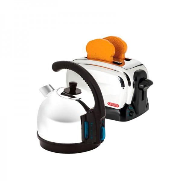 Купить Игровой набор Casdon Завтрак с чайником и тостером в интернет магазине игрушек и детских товаров