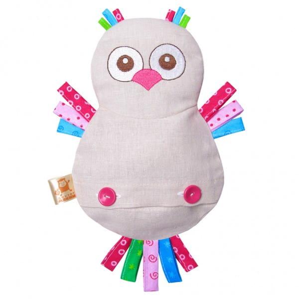 Купить Термоигрушка Мякиши Доктор Мякиш - Сова в интернет магазине игрушек и детских товаров