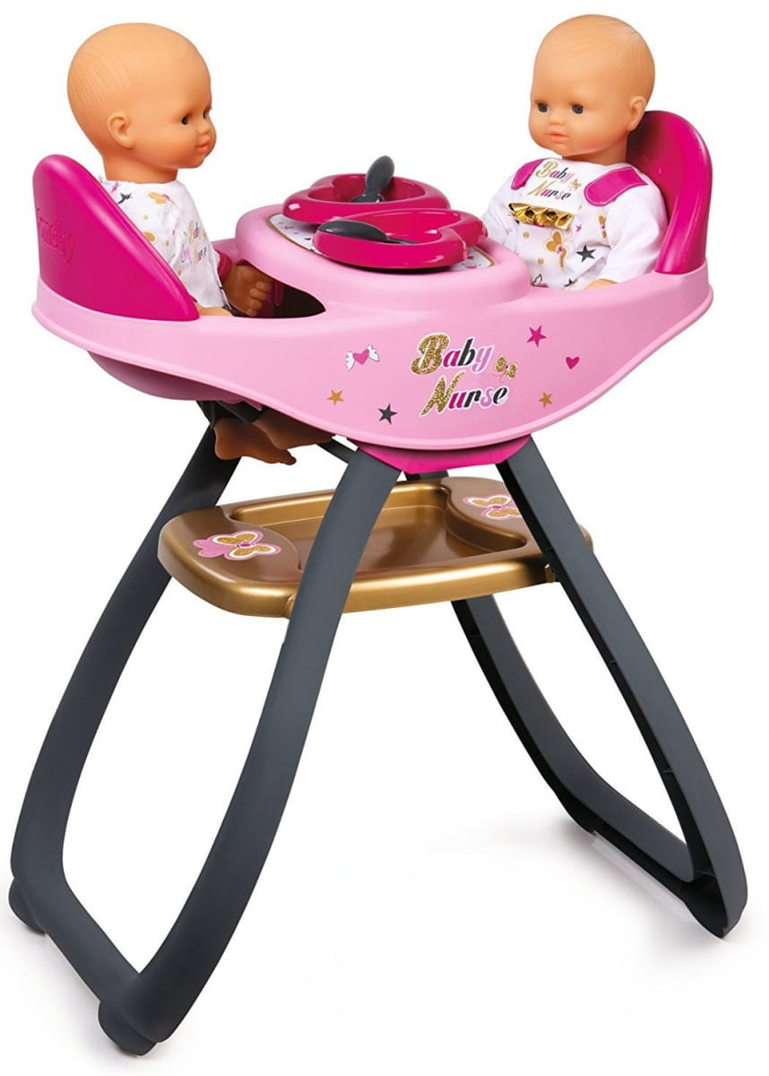 Стульчик для кормления двойняшек Baby Nurse (Smoby)