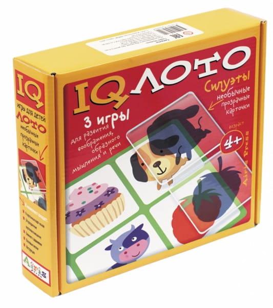Купить Игровой набор Айрис-Пресс Пластиковое лото - Силуэты в интернет магазине игрушек и детских товаров