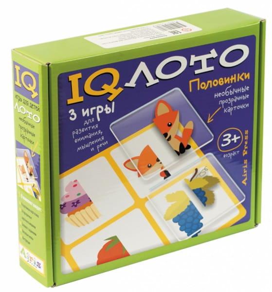 Купить Игровой набор Айрис-Пресс Пластиковое лото - Половинки в интернет магазине игрушек и детских товаров