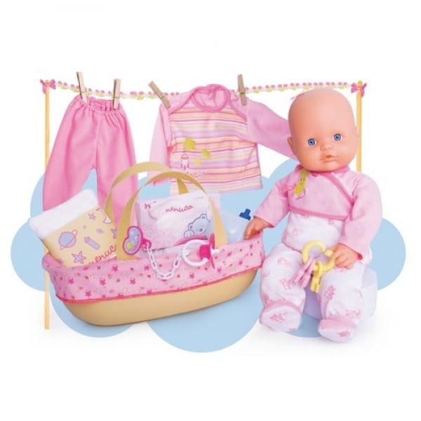 Купить Мягкий пупс Nenuco Ненуко с аксессуарами для новорожденного (Famosa) в интернет магазине игрушек и детских товаров