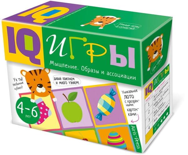 Обучающий набор АЙРИС-ПРЕСС Сундучок с IQ играми - Образы и ассоциации