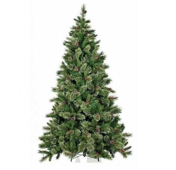 Купить Искусственная елка с шишками и ягодами Black Box Регина - 215 см в интернет магазине игрушек и детских товаров