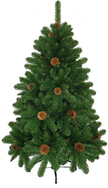 Купить Ель Crystal Trees Триумфальная с шишками - 210 см в интернет магазине игрушек и детских товаров