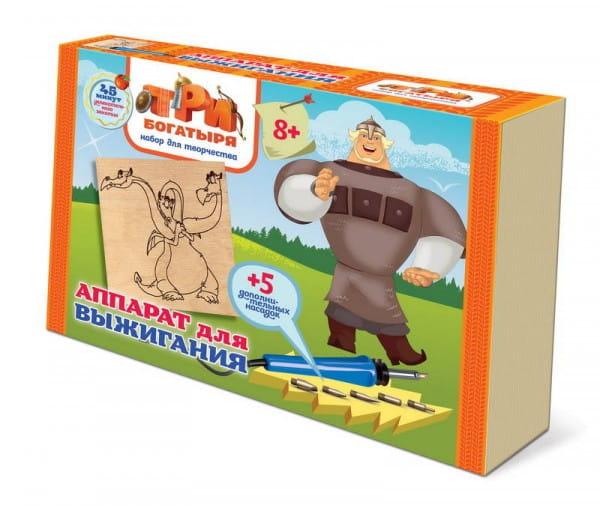 Купить Набор для выжигания Фантазер Три богатыря - Змей Горыныч в интернет магазине игрушек и детских товаров