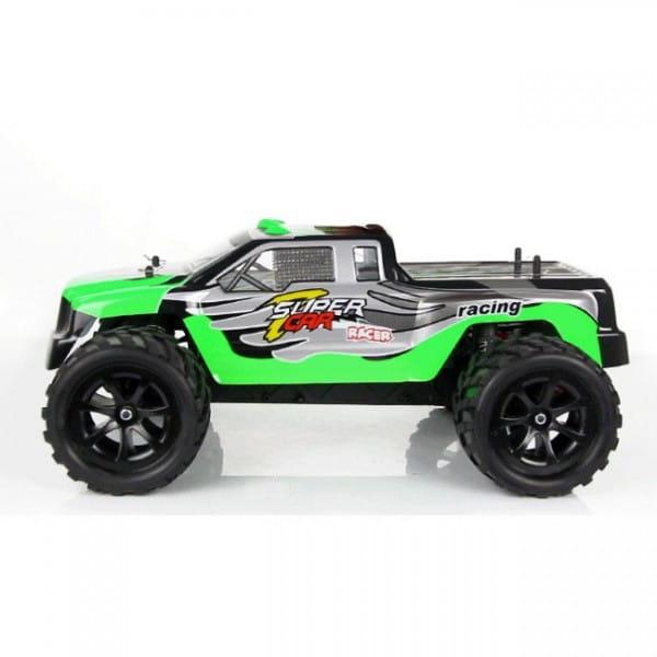 Купить Радиоуправляемый внедорожник WL Toys Трагги Battle Nitro Off Road 1:12 в интернет магазине игрушек и детских товаров
