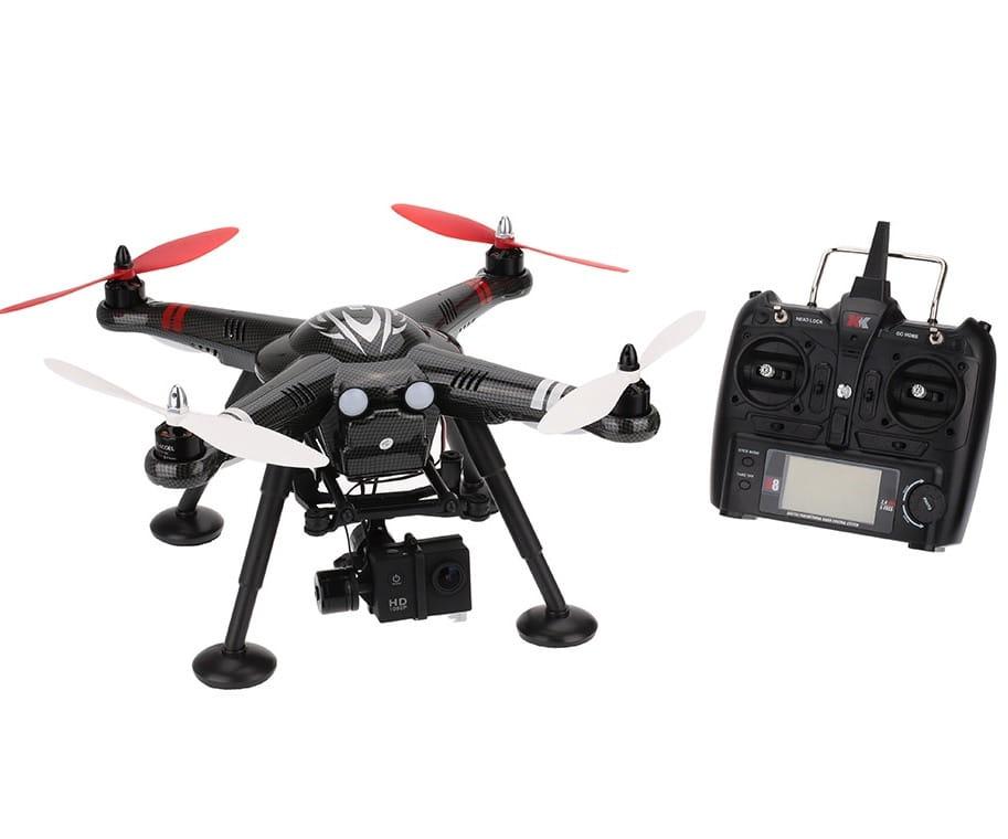 Радиоуправляемый квадрокоптер WL Toys XK Innovations Detect X380-В RTF 2.4G с HD камерой