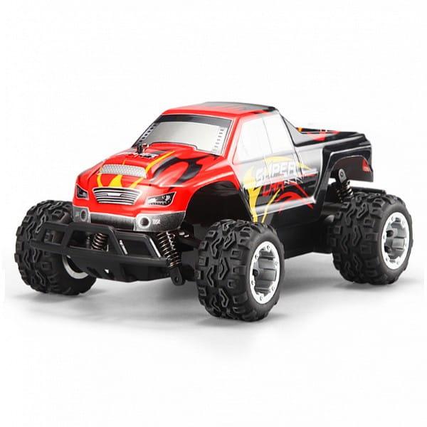 Купить Радиоуправляемая машина WL Toys Monster Truck 1:24 в интернет магазине игрушек и детских товаров