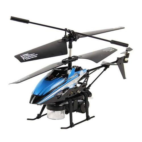 Радиоуправляемый вертолет WL Toys V757 с мыльными пузырями - 23 см