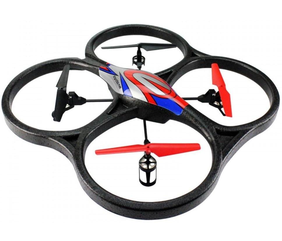 Радиоуправляемый квадрокоптер WL TOYS V262C Camera Cyclone UFO Drones