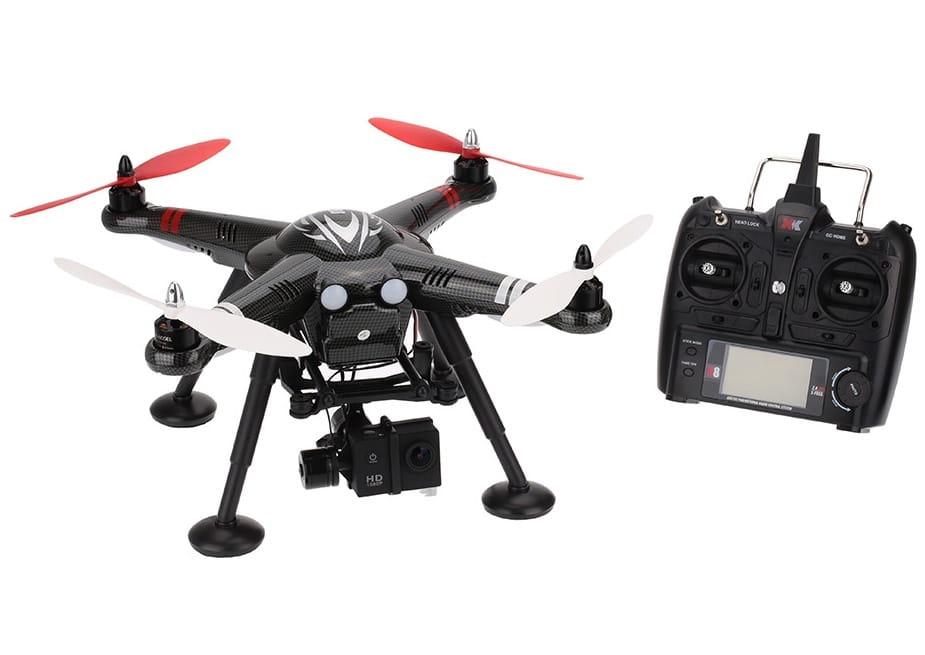 Радиоуправляемый квадрокоптер WL Toys XK Innovations Detect X380-C RTF 2.4G