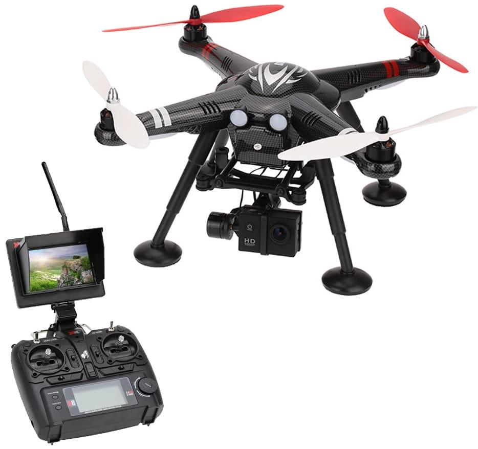 Радиоуправляемый квадрокоптер WL Toys XK Innovations X380-C FPV