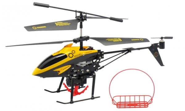 Купить Радиоуправляемый вертолет WL Toys V388 - 23 см в интернет магазине игрушек и детских товаров