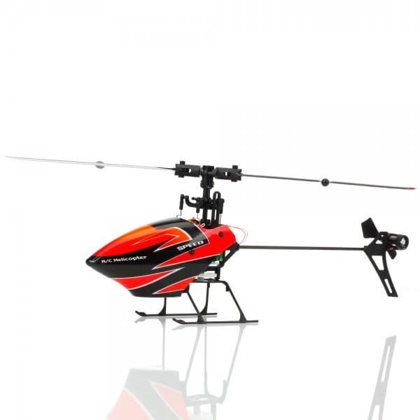 Купить Радиоуправляемый вертолет WL Toys Flybarless - 29 см в интернет магазине игрушек и детских товаров