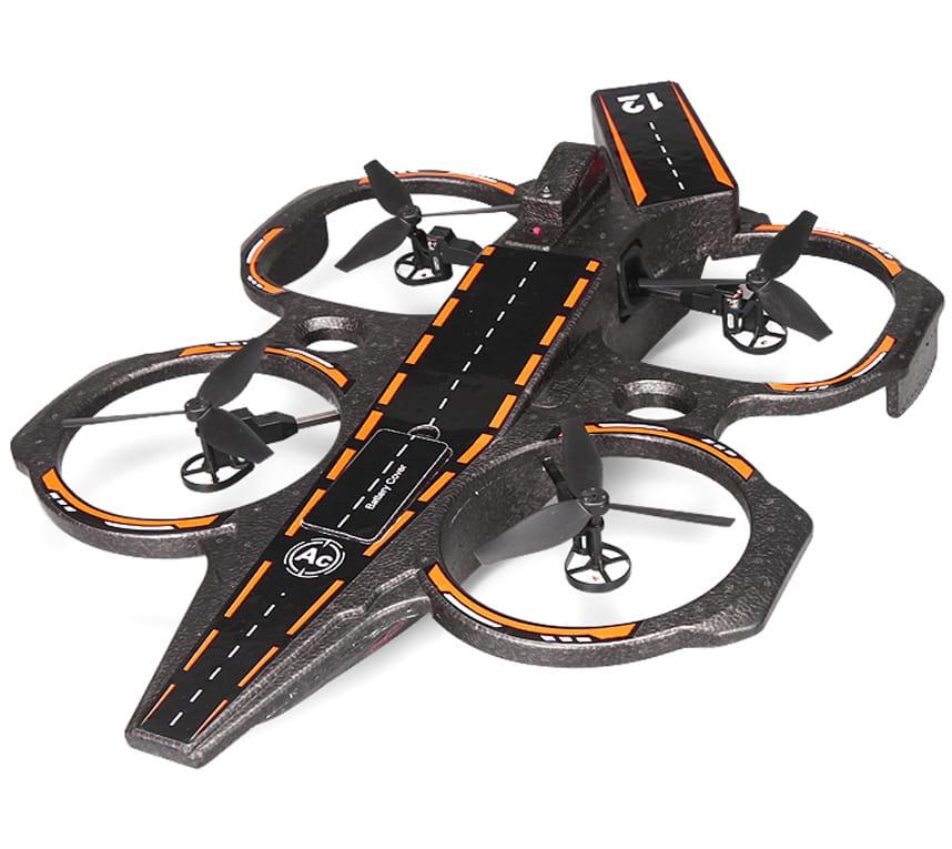 Радиоуправляемый квадрокоптер-амфибия WL Toys Q202 Авианосец