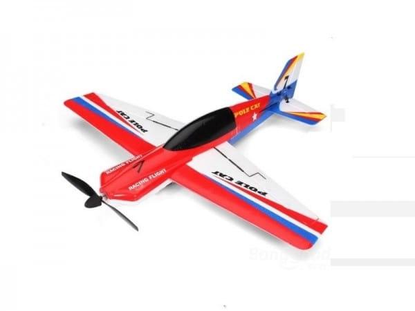 Купить Радиоуправляемый самолет WL Toys Pole Cat - 40 см в интернет магазине игрушек и детских товаров