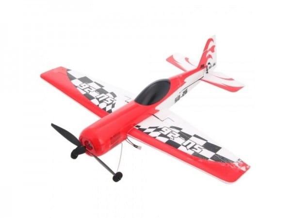 Купить Радиоуправляемый самолет WL Toys SU-26 - 40 см в интернет магазине игрушек и детских товаров