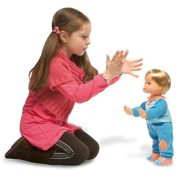 Купить Интерактивная кукла Cicciobello - 38 см (Giochi Preziosi) в интернет магазине игрушек и детских товаров