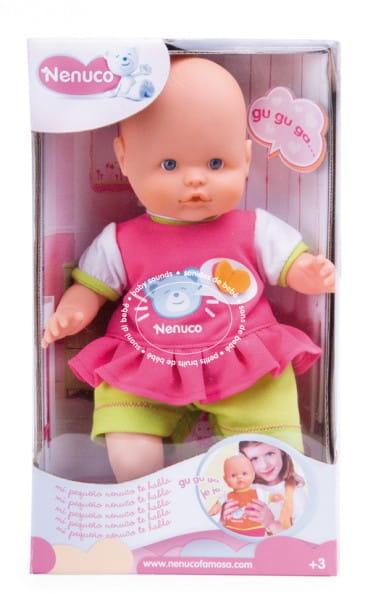 Купить Кукла Famosa Моя первая Ненуко со звуковыми эффектами - 42 см в интернет магазине игрушек и детских товаров