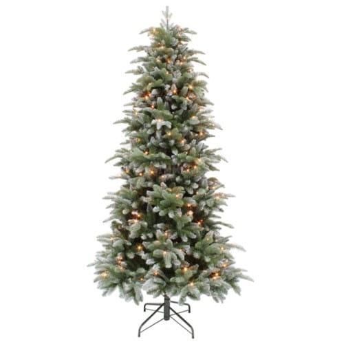 Купить Ель Triumph Tree Нормандия утонченная заснеженная - 185 см (184 лампы) в интернет магазине игрушек и детских товаров