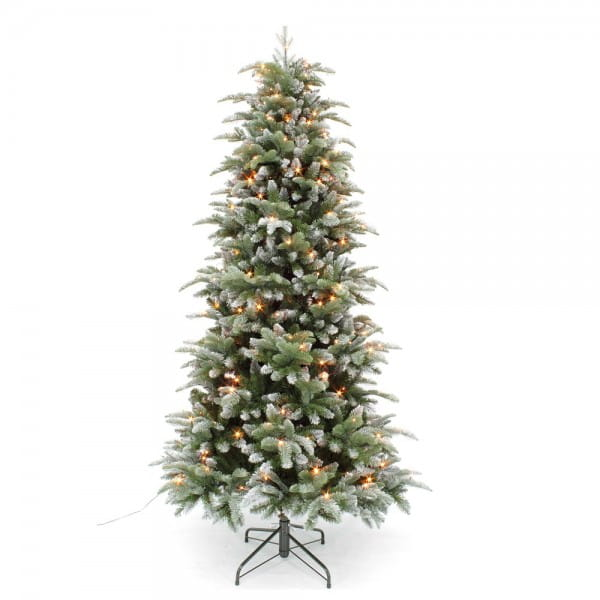 Купить Ель Triumph Tree Нормандия утонченная заснеженная - 230 см (312 ламп) в интернет магазине игрушек и детских товаров
