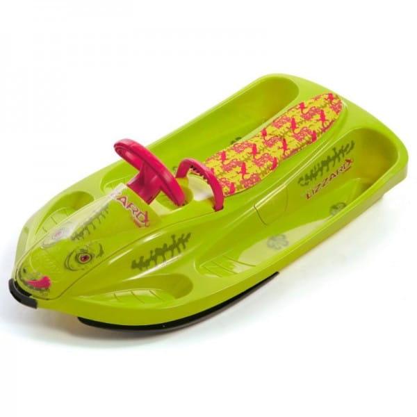 Купить Санки Hamax Sno Lizzard - салатовые в интернет магазине игрушек и детских товаров
