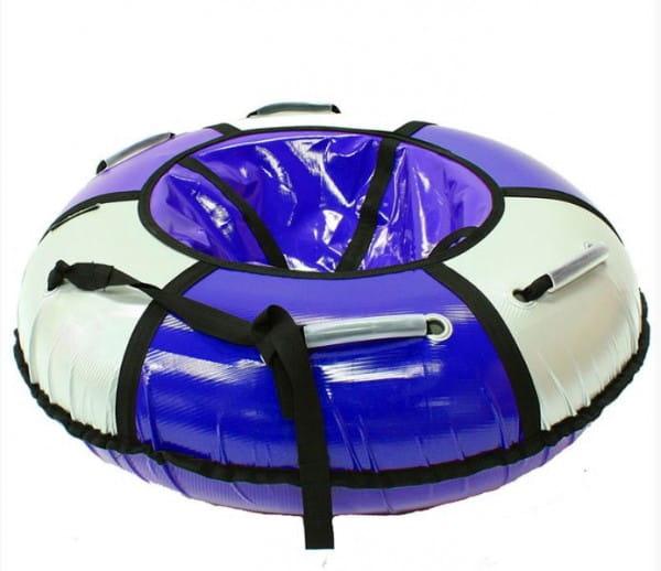 Купить Тюбинг Hubster Классик - 90 см (серо-синий) в интернет магазине игрушек и детских товаров
