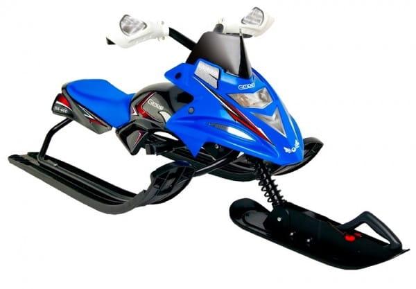 Купить Снегокат Gimpel - Tornado Синий в интернет магазине игрушек и детских товаров