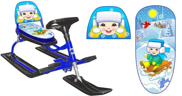 Купить Снегокат Барс Комфорт Иванушка в интернет магазине игрушек и детских товаров
