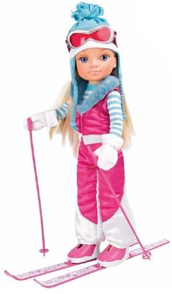 Купить Кукла Nancy Нэнси Зимняя красавица на лыжах (Famosa) в интернет магазине игрушек и детских товаров
