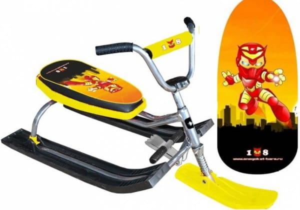 Купить Снегокат Барс Dream Team Rocket man в интернет магазине игрушек и детских товаров
