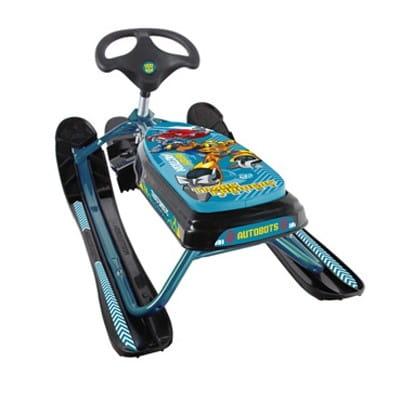 Купить Снегокат Snowstorm Траснформеры - Голубой в интернет магазине игрушек и детских товаров
