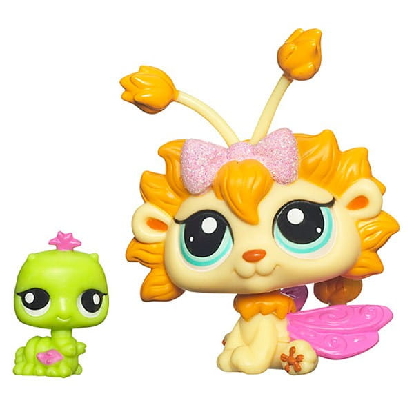 Купить Игровой набор Littlest Pet Shop Фея Одуванчик с другом (Hasbro) в интернет магазине игрушек и детских товаров